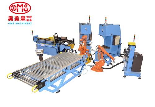 管材成型自动生产线,童车管材自动生产线